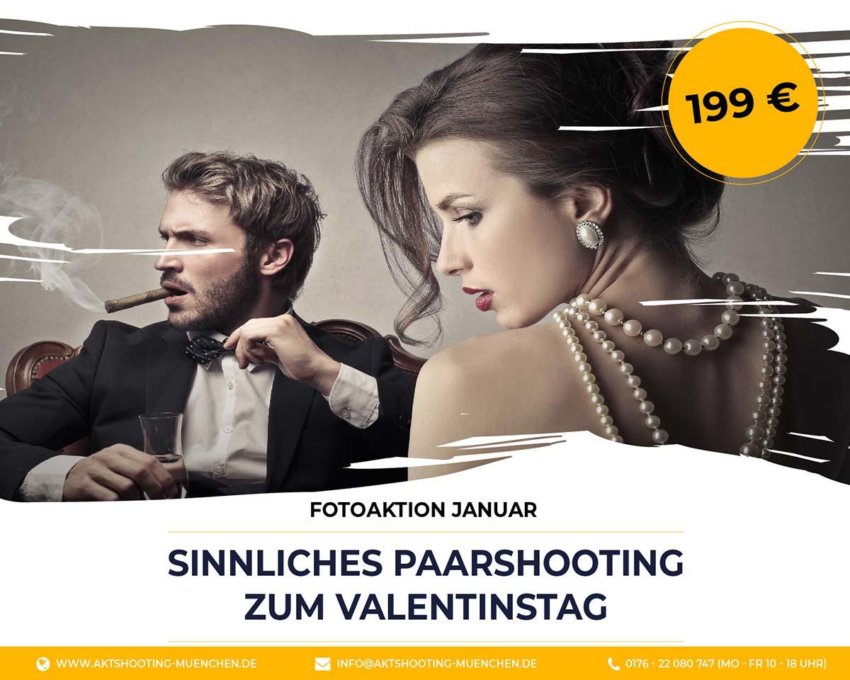 Flyer Fotoaktion sinnliches Fotoshooting für Paare in München