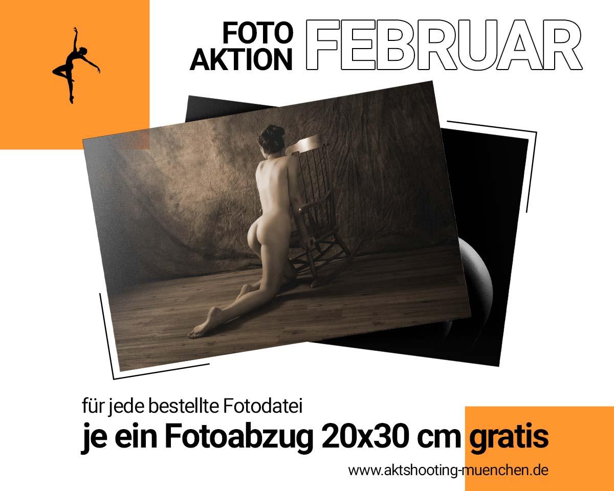Fotoshooting Flyer für Aktfotos in München