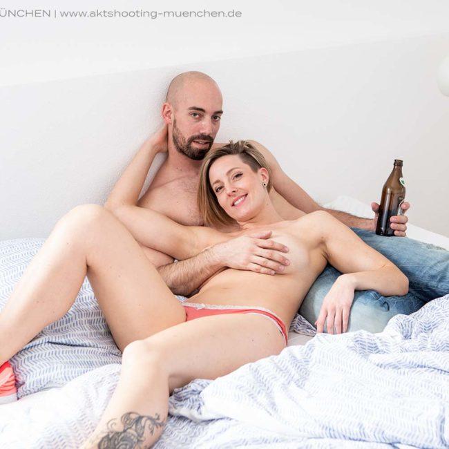 Paarfoto erotisch mit Aktfotograf München