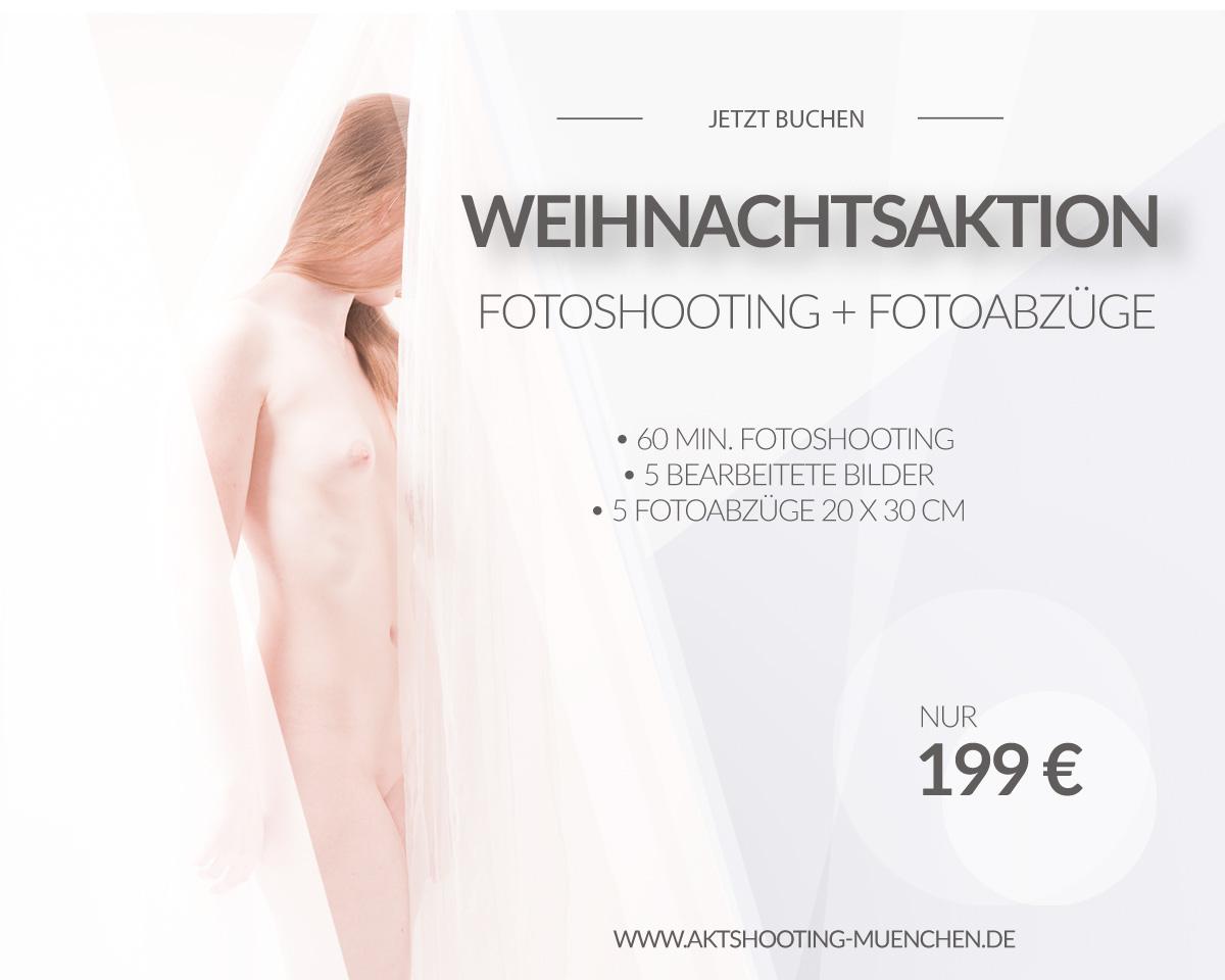 Flyer Shooting Aktfotos München