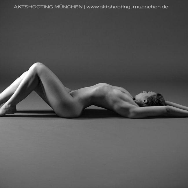 Erotische Fotografie Akt Studio München