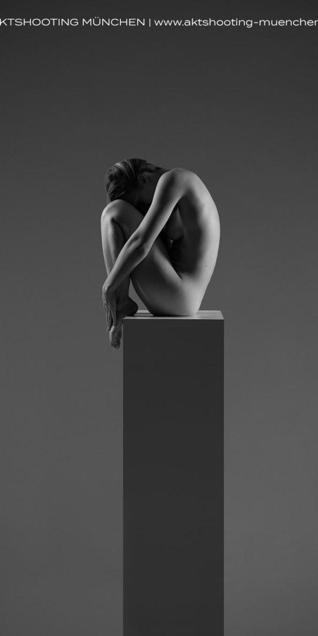 Kunstvoller Akt als Skulptur von Fotograf München